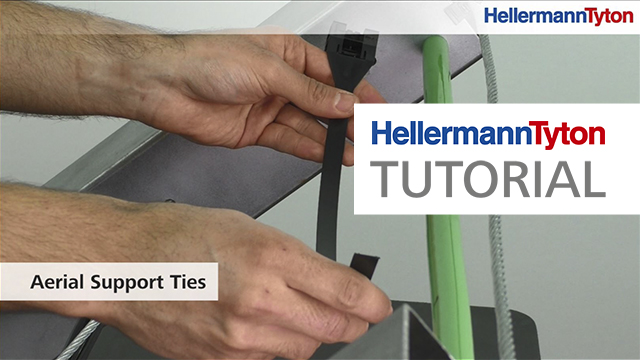 Aerial Support Ties - HellermannTyton