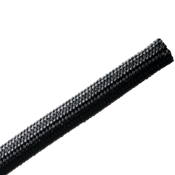 Braided Sleeving, Resin Coated Fiberglass, 0.25