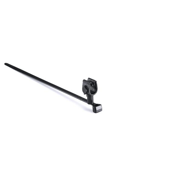 MOC Clip, 8 mm, Assembled to T50SMVC Swivel Tie, PA66HIRHSUV, Black, 1000/ctn