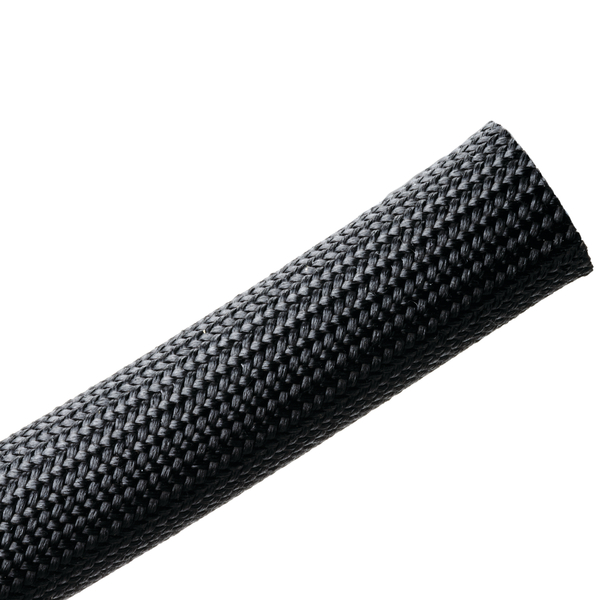 Braided Sleeving, Resin Coated Fiberglass, 0.75