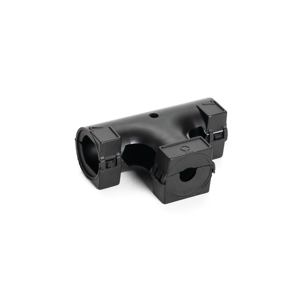 Hinged Convoluted Loom Tubing T-Fitting, L- 0.75