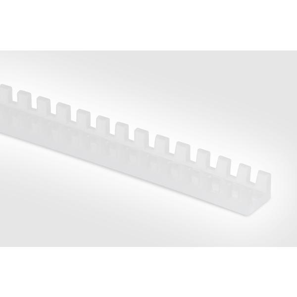 Grommet, Panel Thickness 0.256''-0.319'', PE, Natural, 82ft/pkg
