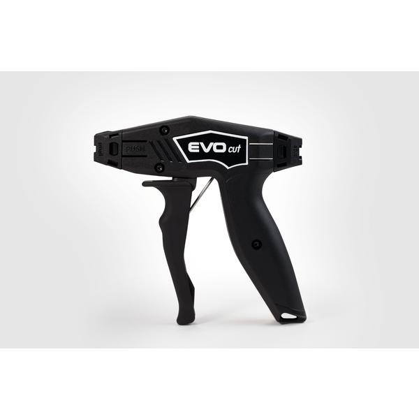 EVO Cut Cable Tie Cutting Hand Tool, Black, 1/pkg