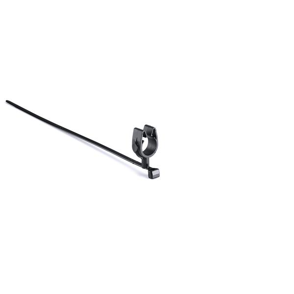 MOC Clip, 14 mm, Assembled to T50SMVC Swivel Tie, PA66HIRHSUV, Black, 1000/ctn