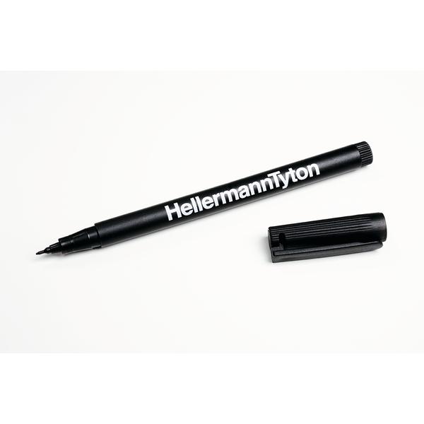 Felt Tip Pen, Black, 1/pkg