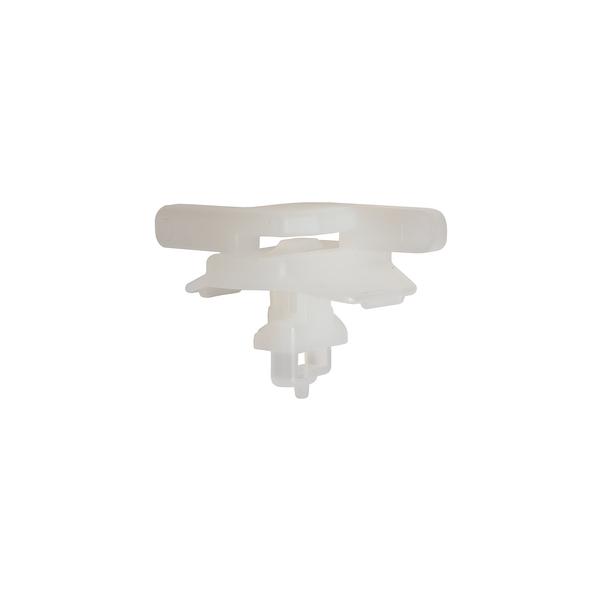 Aluminum Frame Mount for 40mm Frame, 2.5 - 3.0mm Panel Thickness, PA66, White, 100/bag