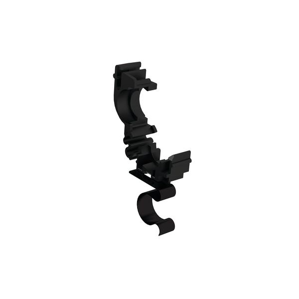 Conduit Clamps, Size 13, Bundling Clip Size 16 mm, PA66, Black, 1000/carton